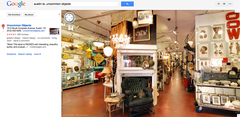 Google Business View: Street View entra en el Retail