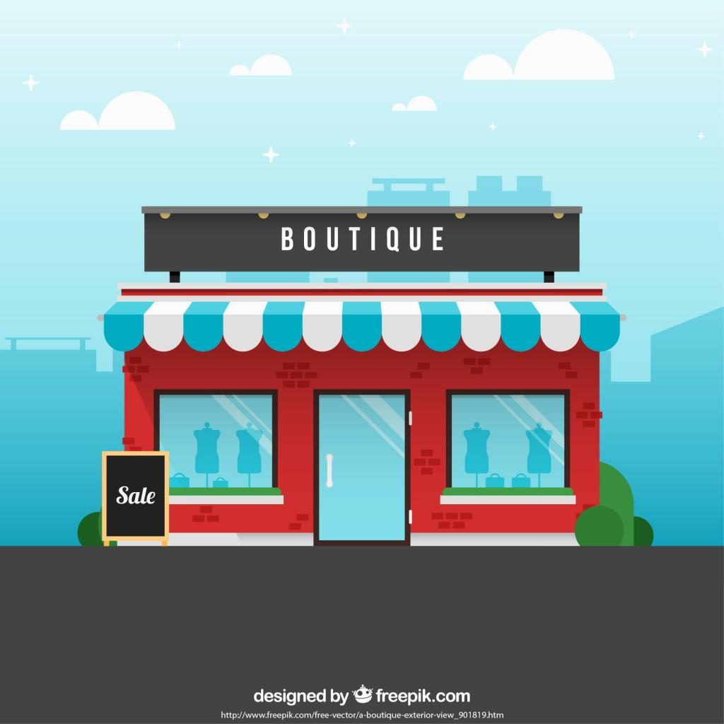 flat fashion store
