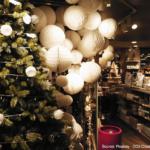 Campaña navideña en tienda